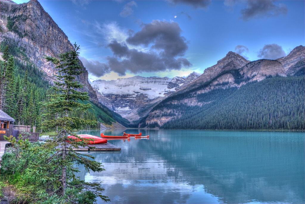 Sunrise Canada Lake